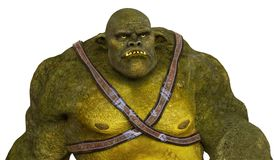 Ogre 3D Illustration Royalty Free Stock Photography