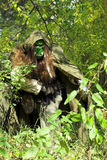 Ogre in the forest Stock Images