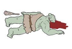 Ogre killed. Creative design of ogre killed Stock Photo