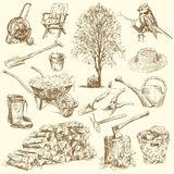 Ogrodnictw narzędzia Obraz Stock