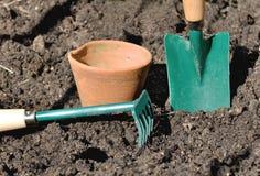 ogrodnictw narzędzia Zdjęcia Royalty Free