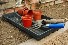ogrodnictw narzędzia Fotografia Royalty Free