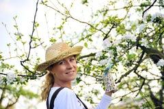 ogrodnictwa kobiety potomstwa Zdjęcie Royalty Free