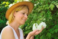 ogrodnictwa kobiety potomstwa Fotografia Stock