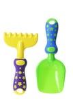 ogrodnictwa narzędzi zabawka Fotografia Stock