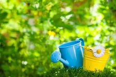ogrodnictwo ogrodnicze narzędzia wiosny Zdjęcia Royalty Free