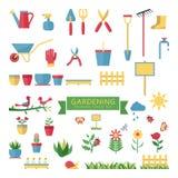 ogrodnictwo set Zdjęcie Stock