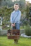 ogrodniczka trochę Fotografia Royalty Free