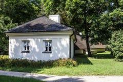 Ogrodniczki chałupa w Nieborow Zdjęcie Stock