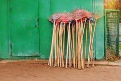 Ogrodniczy instrument jest gotowy praca zdjęcie royalty free