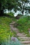 ogrodowa ścieżka Zdjęcie Royalty Free