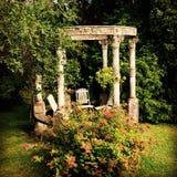 Ogrodowa świątynia zdjęcia royalty free
