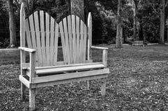 Ogrodowa ławka Zdjęcie Stock