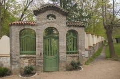 Ogrodowa brama Obrazy Royalty Free