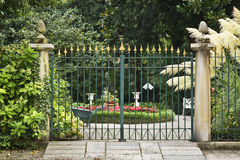 ogrodowa brama Włochy Obraz Royalty Free