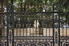 ogrodowa brama Włochy Zdjęcie Stock