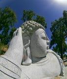 ogrodowa buddhist statua zdjęcie royalty free