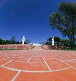 ogrodowa buddhist statua fotografia royalty free