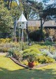 Ogrodowa dekoracja w wiosny gospodarstwie rolnym Zdjęcia Royalty Free