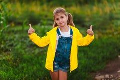 ogrodowa dziewczyna Obraz Royalty Free
