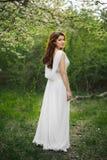 ogrodowa dziewczyny wiosna Zdjęcie Stock