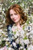 ogrodowa dziewczyny wiosna Obrazy Stock