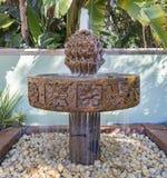 Ogrodowa fontanna Zdjęcia Royalty Free