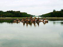 Ogrodowa górska chata de Versailles Zdjęcia Royalty Free