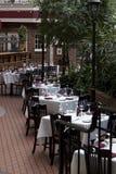 Ogrodowa restauracja Fotografia Stock