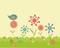 ogrodowa retro wiosna Zdjęcia Stock