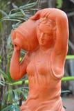 Ogrodowa rzeźba Fotografia Royalty Free