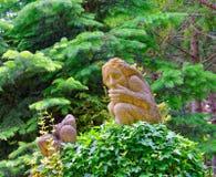 Ogrodowa rzeźba Zdjęcia Royalty Free