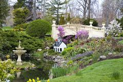 ogrodowa wiosna Obraz Royalty Free