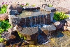 ogrodowa woda Obraz Stock