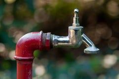 ogrodowa woda kranowa Obrazy Royalty Free