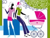 ogrodowe matki ilustracji