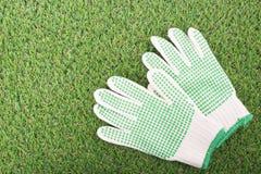 Ogrodowe rękawiczki dla twój wyposażenia Obraz Royalty Free