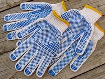 Ogrodowe rękawiczki Fotografia Stock