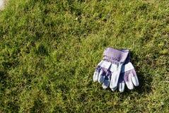 ogrodowe rękawiczki Zdjęcia Royalty Free