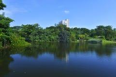 Ogrodowego miasta serie zdjęcie stock