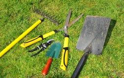 ogrodowi narzędzia Fotografia Royalty Free
