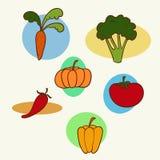 Ogrodowi warzywa Zdjęcia Stock