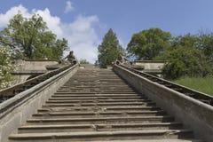 ogrodowy baroku schody obrazy royalty free