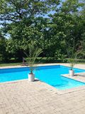 Ogrodowy basen Zdjęcia Stock