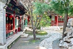 ogrodowy Chińczyka jard fotografia stock
