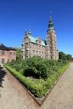 ogrodowy Denmark grodowy rosenborg Fotografia Royalty Free