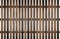 Ogrodowy drewna ogrodzenie na bielu Zdjęcie Royalty Free