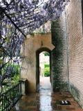 Ogrodowy drzwi Zdjęcia Stock