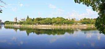 ogrodowy Hiroshima pomnika pokój zdjęcia royalty free