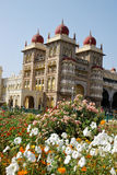 ogrodowy ind Mysore pałac Obrazy Stock
